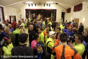 1 Gathering in South Brent Village hall