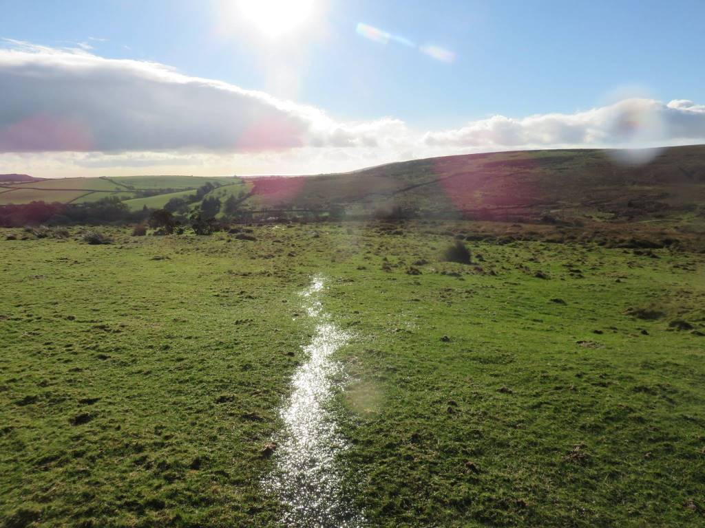 13 Path across the top of the moor