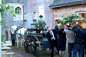 Working as funeral director