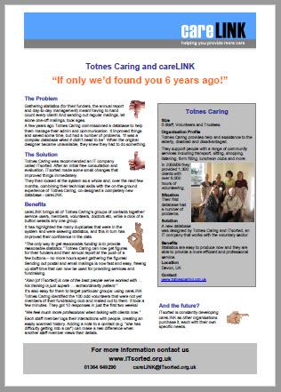 careLINK - Case Study - Totnes Caring - image