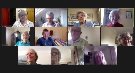 zoom meeting for elderly
