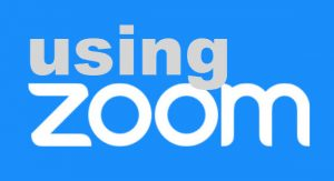 Using Zoom logo