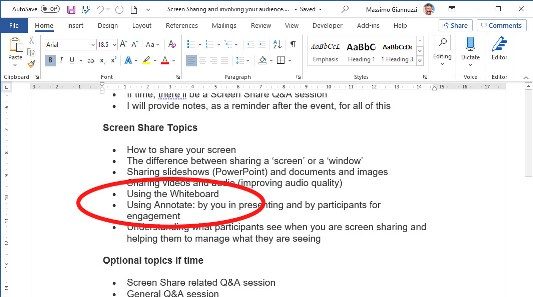 screen sharing annotate plus scroll problem 2