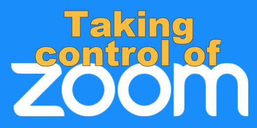 taking control of zoom logo