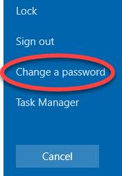 Kingscare Change password 1
